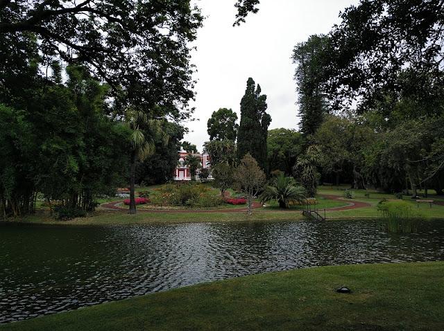 Jardín del Palacio de Santa Ana en Ponta Delgada