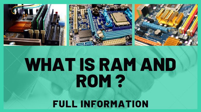 what-is-ram-and-rom