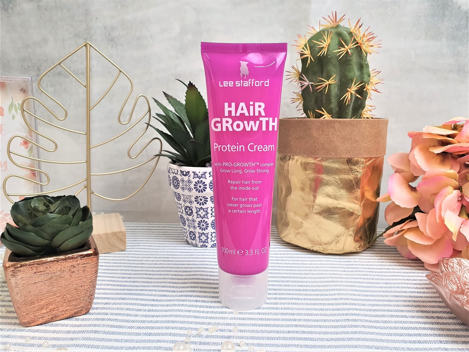 Kathryn S Loves Lee Stafford Hair Growth Protein Cream Review