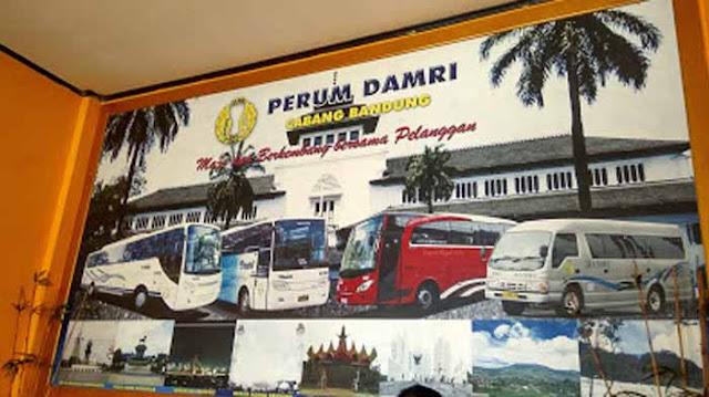 Pool Damri Bandung, Ini Dia Alamat Kantornya