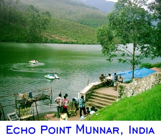 Munnar Attractions : Echo Point Munnar