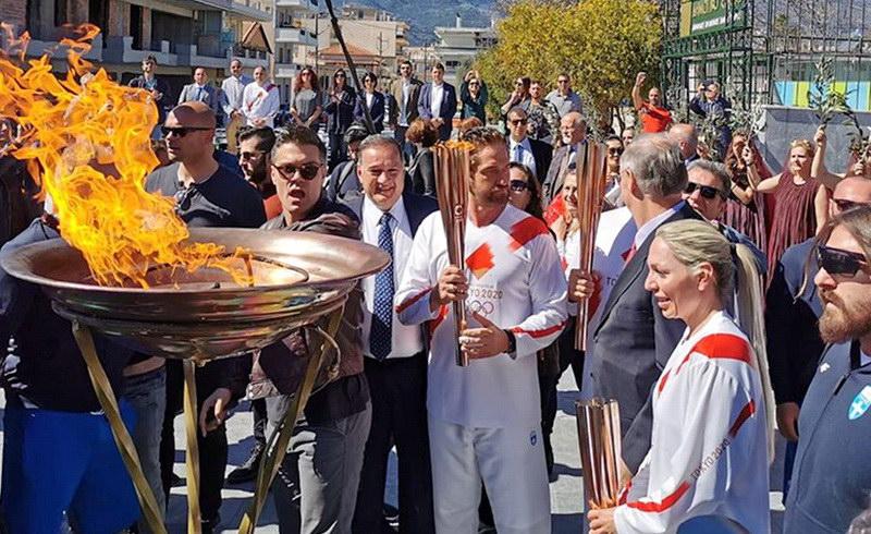 Ματαιώνεται η λαμπαδηδρομία της Ολυμπιακής Φλόγας