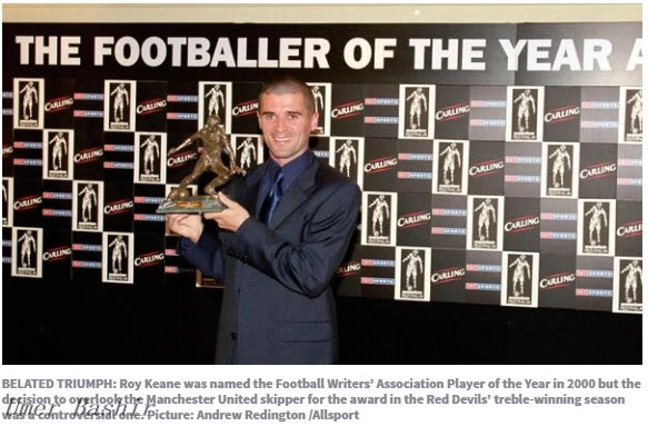 Footballer of the Year: 'We do not always fix this, but rarely misunderstand'