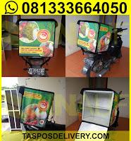 tas delivery makanan, box delivery motor bebek bahama jogja