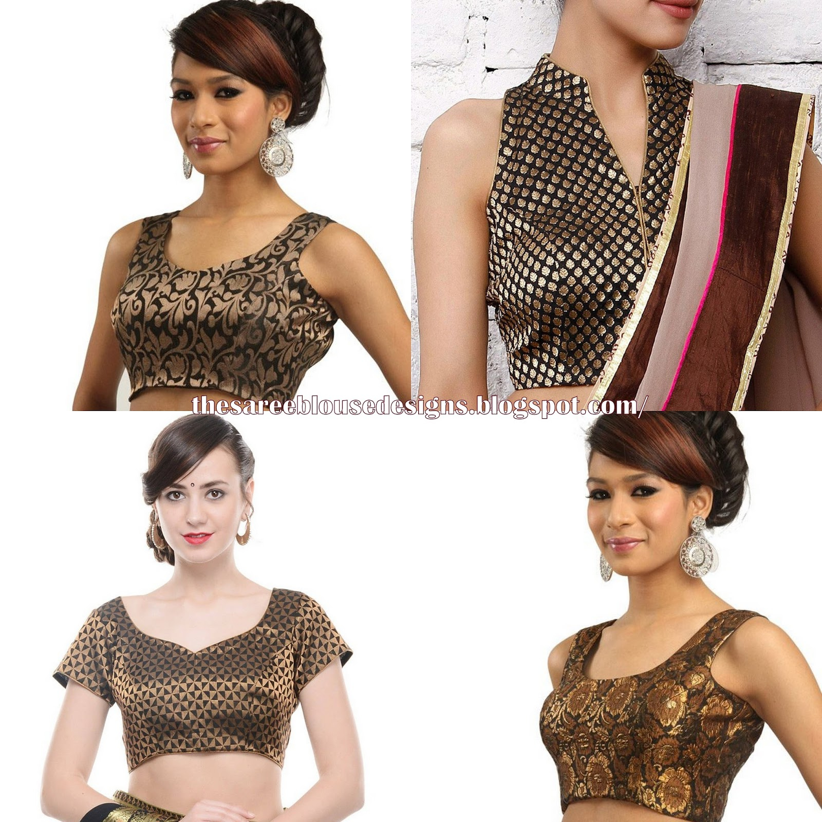 Saree Blouse Designs: 5 Must Have Saree Blouse Designs for ...