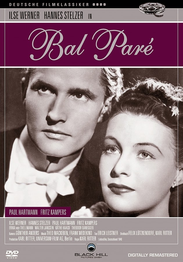"Poster for the movie ""Bal Paré ""."
