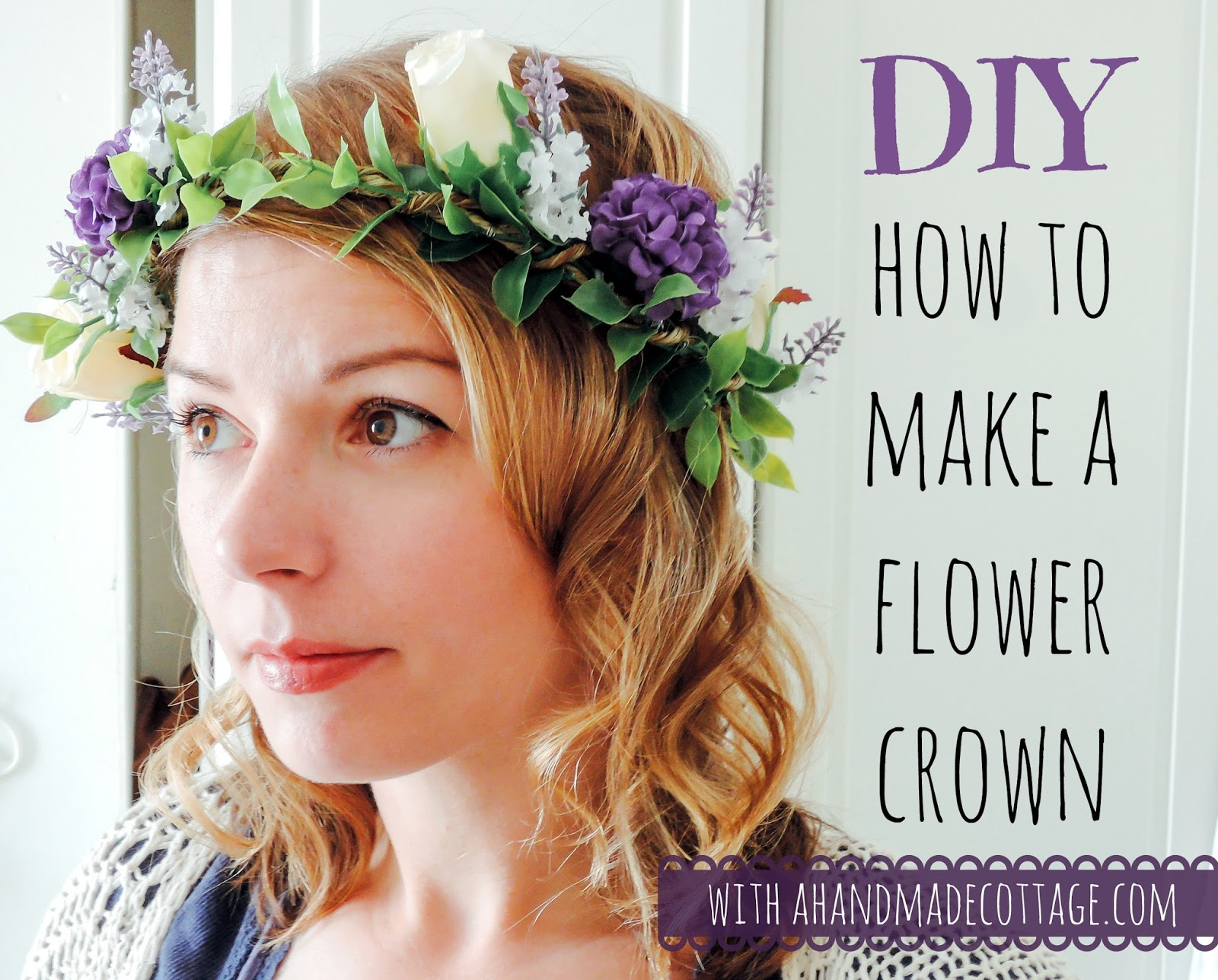 A handmade cottage how to make a flower crown for weddings how to make a flower crown izmirmasajfo