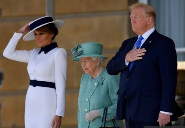 Trump meets Queen Elizabeth after insulting London Mayor