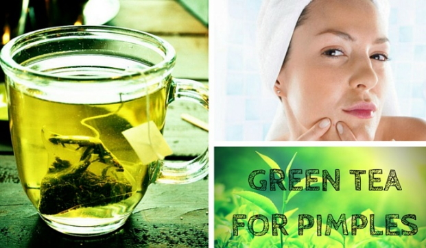 does green tea get rid of acne