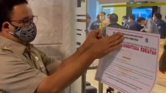 Dimarahi Anies, Kantor Paksa Karyawan WFO Ditutup dan Owner Dipolisikan