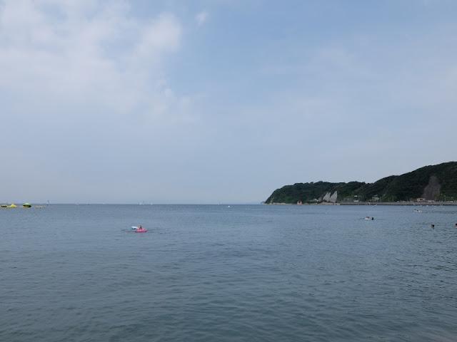 逗子海岸の写真です。