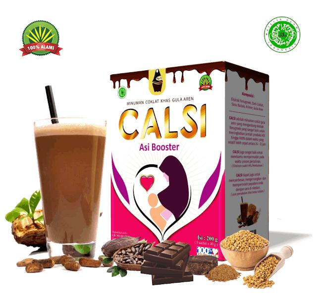 CALSI ASI BOOSTER Minuman Coklat Khas Gula Aren