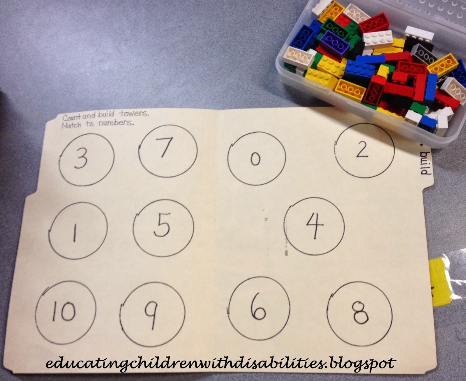 Educating Children With Disabilities Math Skill Tasks