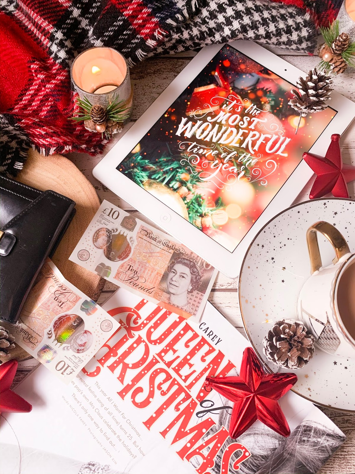 5 Ways To Save Money On Gifts This Christmas Flatlay