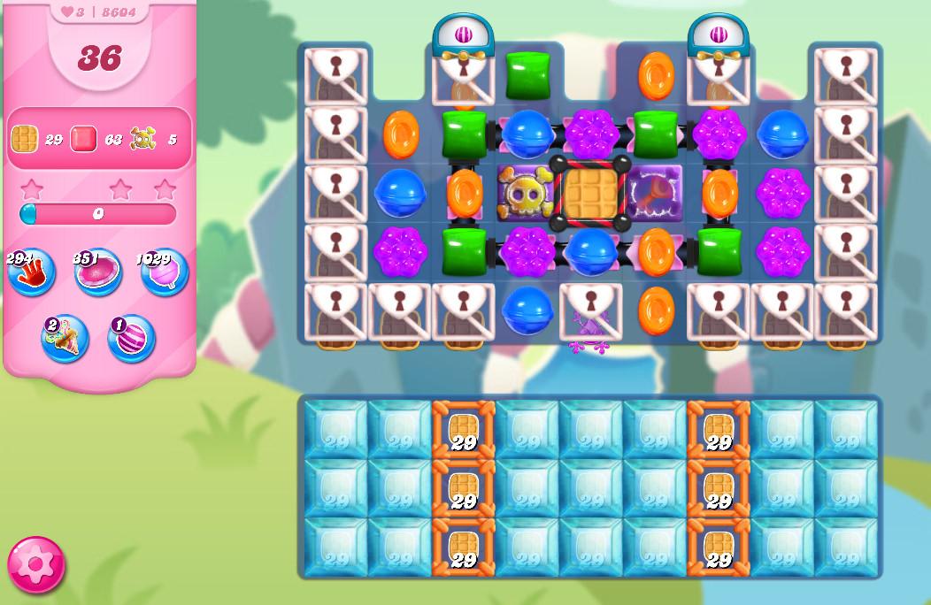 Candy Crush Saga level 8604