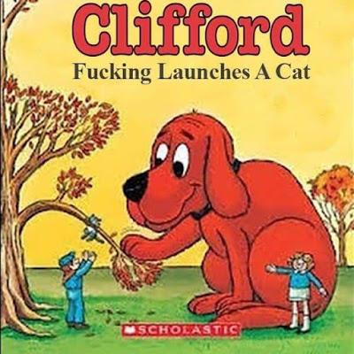 Meme de humor sobre Clifford