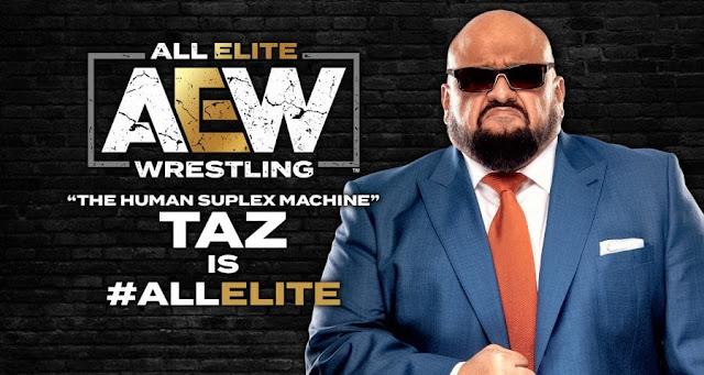 Taz assina contrato de vários anos com a AEW