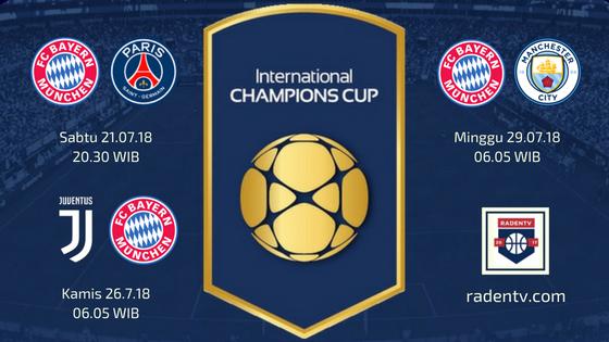 Jadwal Bayern Munchen ICC 2018