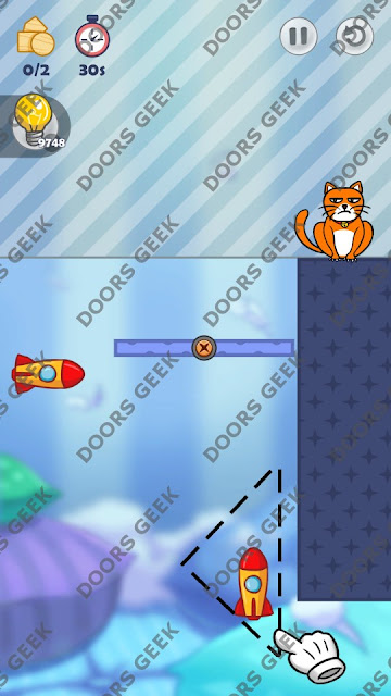 Hello Cats Level 183 Solution, Cheats, Walkthrough 3 Stars for Android and iOS
