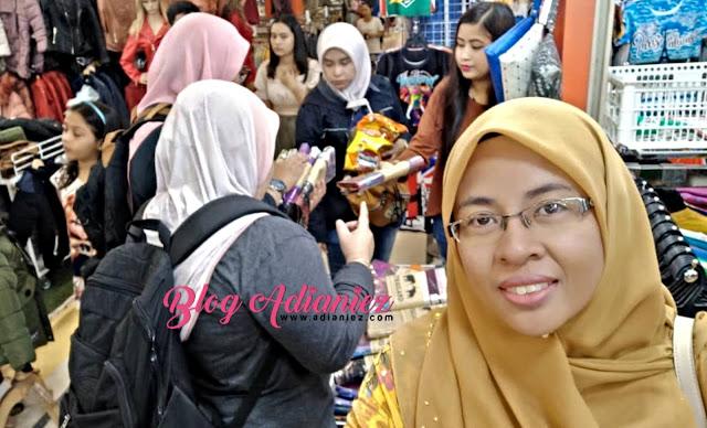 Part 2 | Jamu mata di Pratunam Market & Indra Square, Bangkok