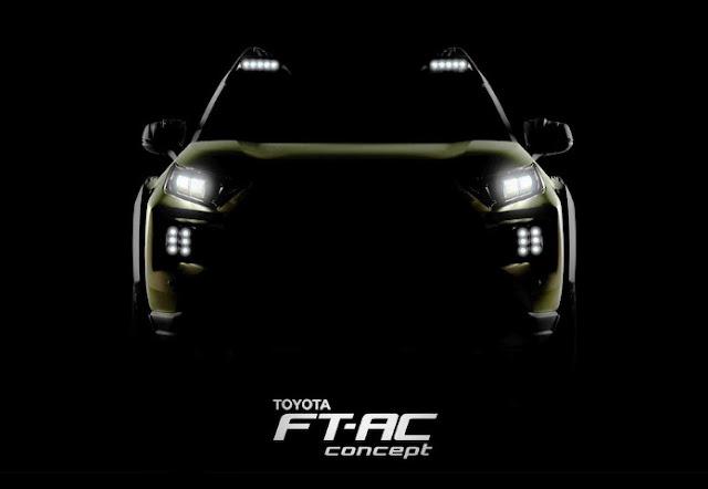 Концепт Toyota FT-AC дебютировал в Лос Анджелесе