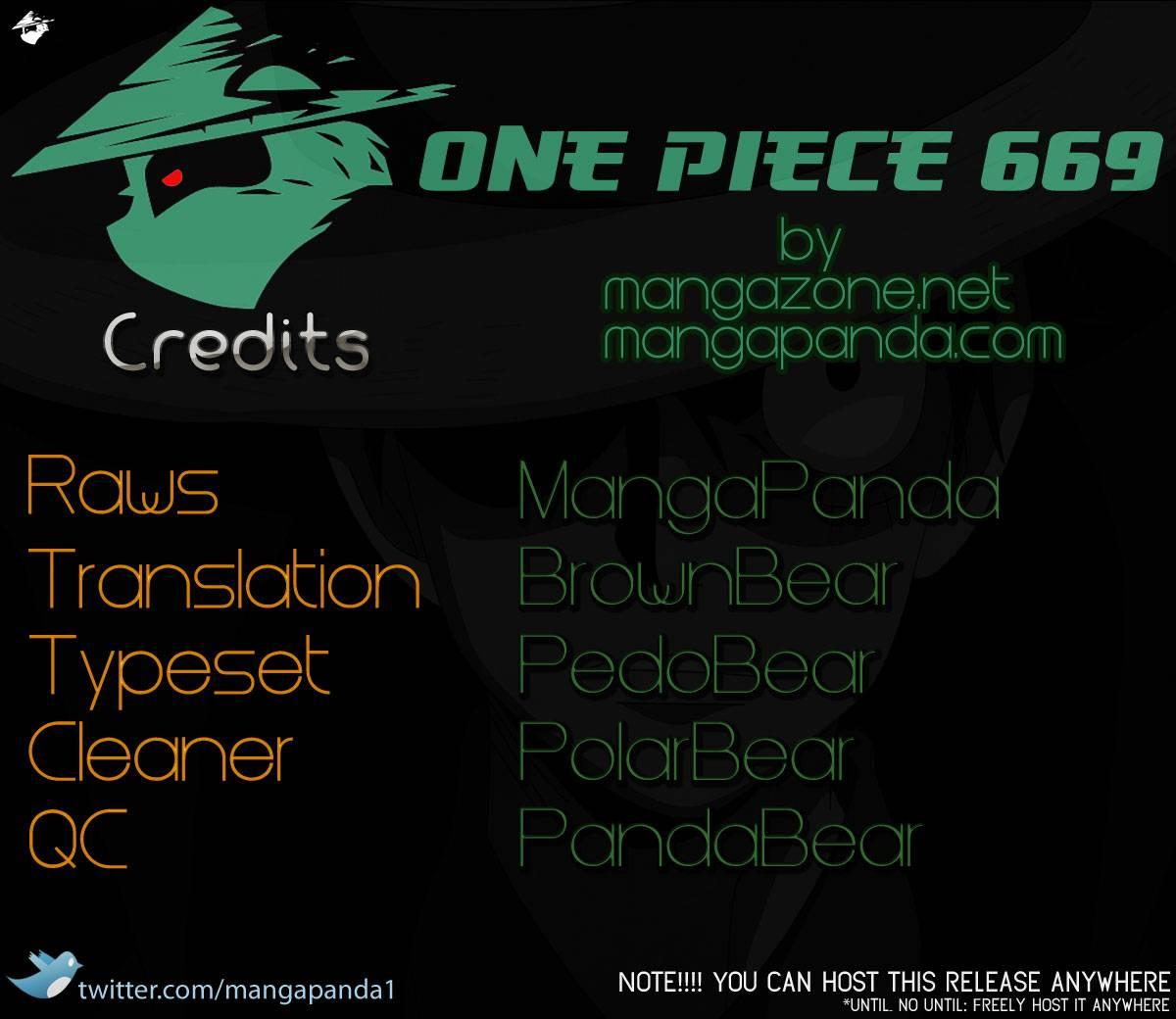 One Piece Chap 669