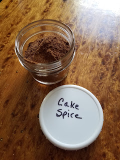 Mixed Spice, homemade spice blend.