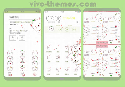 Little Bear Theme For Vivo Android Smartphone