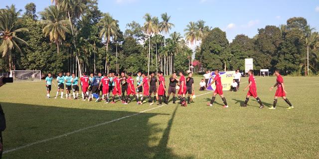 Polda Cup: Kesebelasan Brimob Polda Kandaskan Polres Padangpariaman 2-1