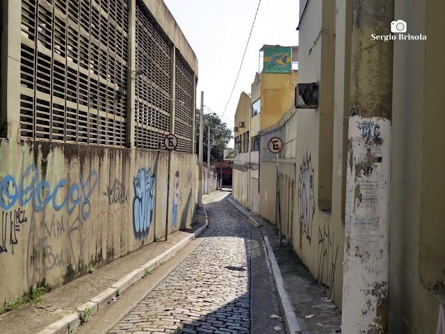 Vista ampla da Travessa Ronaldo Ross - Vila da Saúde - São Paulo