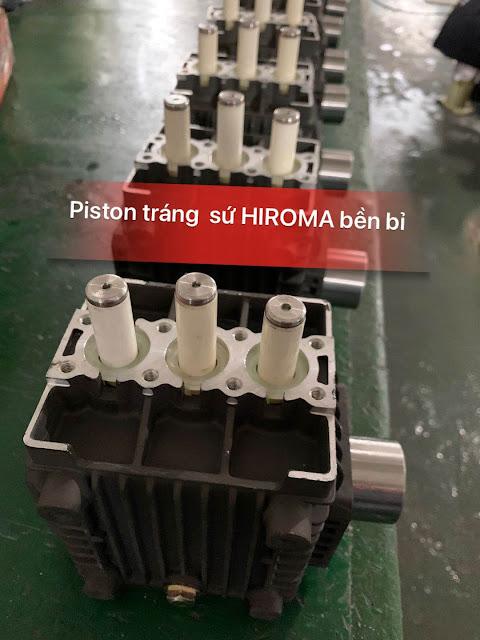 Máy rửa xe chính hãng HIROMA Công suất 3kw Model DHL - 131 6