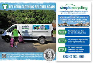 Franklin Residents: Curbside Clothing Starts November 11, 2019