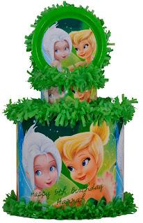 Piñatas Tinkerbell, parte 2