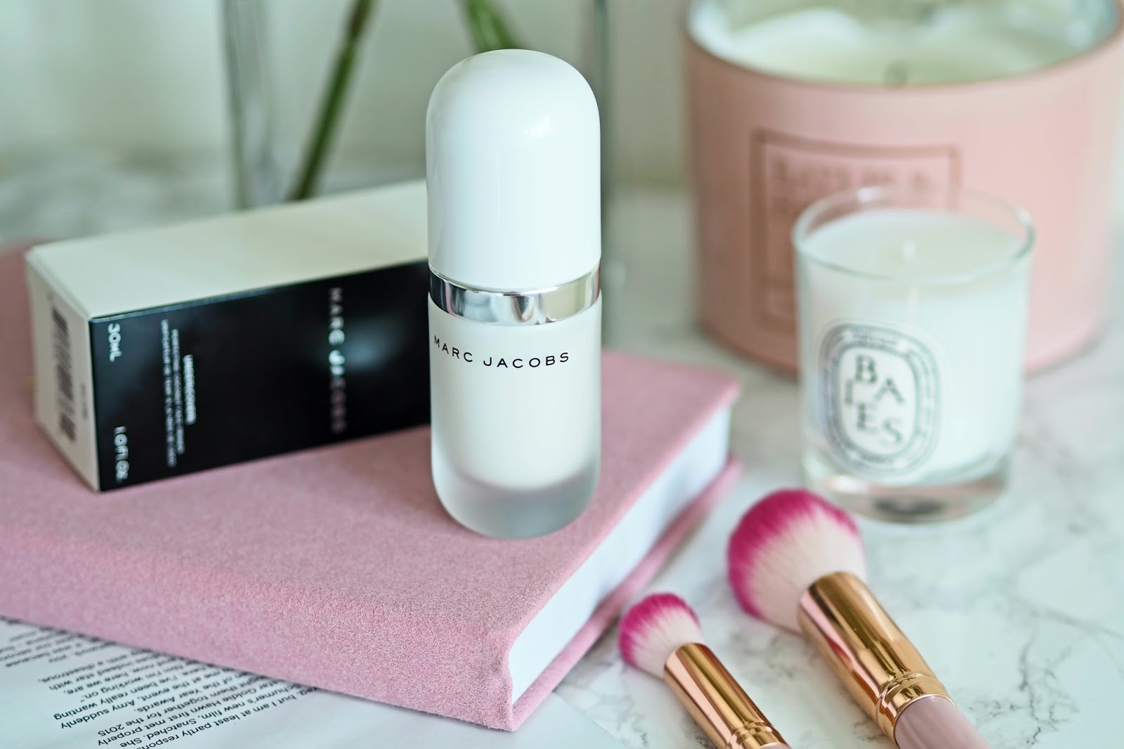 Marc Jacobs Under(Cover) Perfecting Coconut Face Primer Review