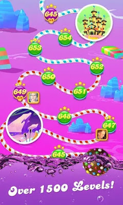 Candy Crush Soda Saga النسخة المهكرة للاندرويد