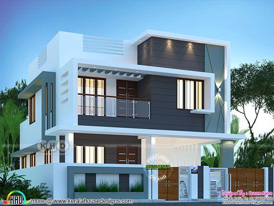 Modern home rendering
