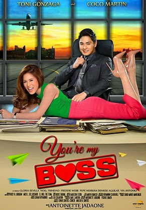 You're my Boss theatrical poster