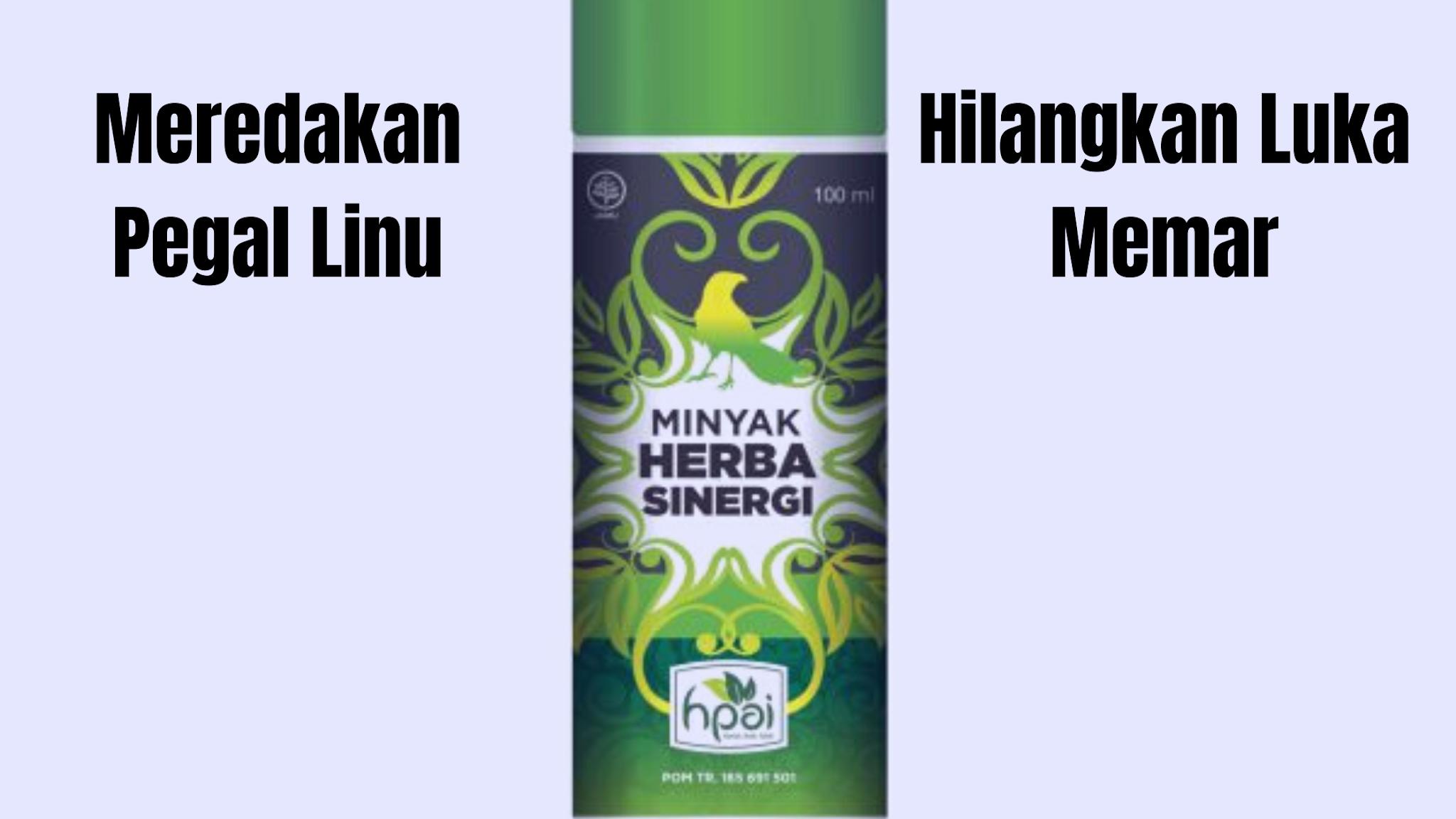 manfaat minyak herba sinergi
