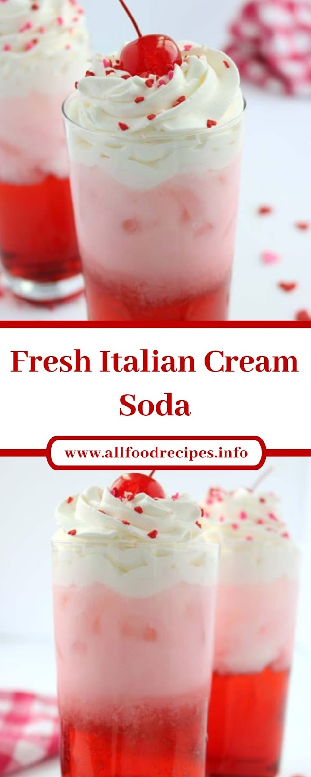 Fresh Italian Cream Soda