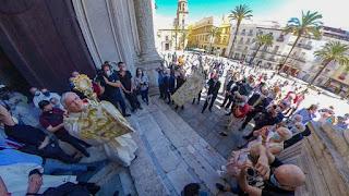 Así fue el día de Corpus Christi en Cádiz en este año 2020