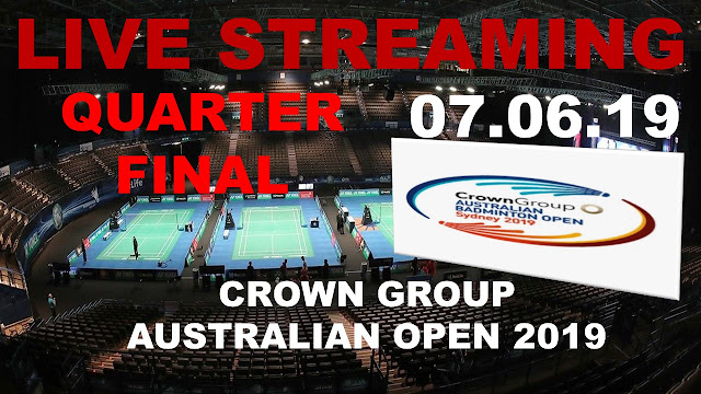 Live CROWN GROUP AUSTRALIAN OPEN 2019