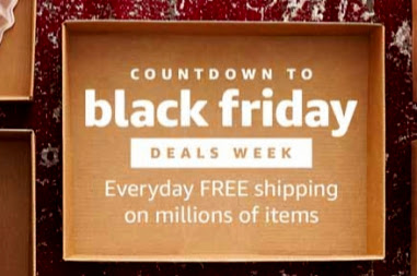 Amazon's Countdown to Black Friday Deals Week