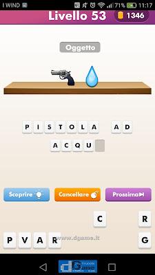 Emoji Quiz soluzione livello 53