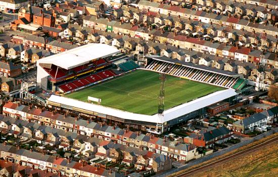 best stadiums in uk grimsby