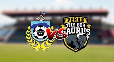 Live Streaming Sabah vs Perak Liga Super 14 Mac 2020