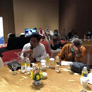 Kadis Kominfo Sultra M Ridwan Badalla Hadir Dalam Rapat Konsultasi Nasional Luar biasa di Malang