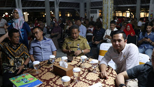 Kapolrestabes Bandung Bersama Walikota Hadiri Silaturahmi Paguyuban Kuliner Kota Bandung