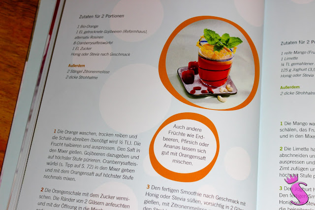 Orangen-Cranberry-Smoothie