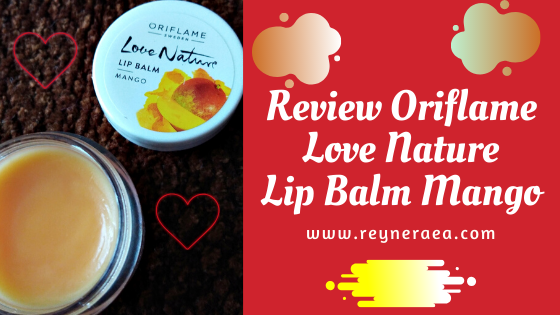 oriflame love nature lip balm mango