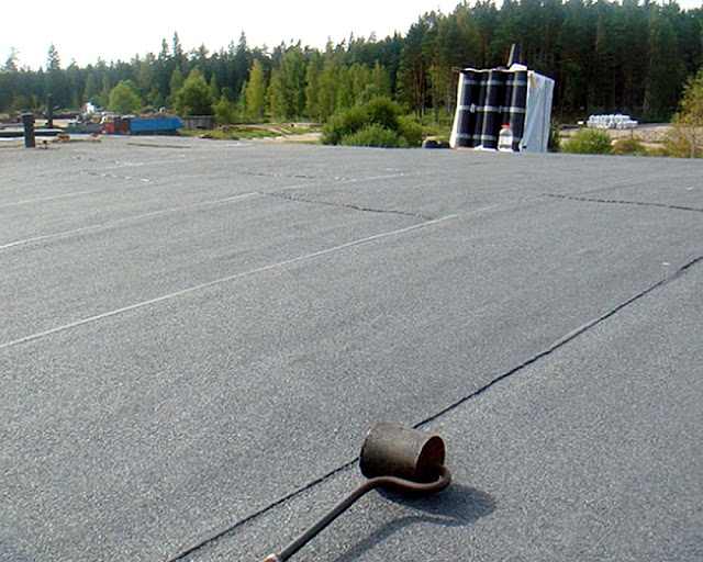 Перекроем крышу рубероидом
